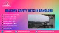 JK Balcony Safety Nets In Bangalore  JK safety nets in Bangalore is one of the leading company in providing safety nets. We deal with different types of nets. We offer balcony safety nets at reasonable price. We offer these service country level and eve...