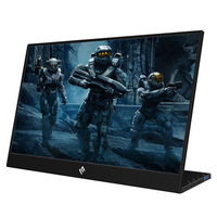 WEICHENSI 15.6 Inch 1080P 90 Degree Type C Portable Computer Monitor Gaming Display Screen for Smartphone Tablet Laptop Game Consoles
