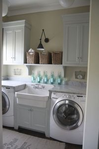 bathroom and laundry room combinations   Sharing Grace » Blog Archive » No Words to Write