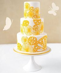 So quickly the winter months fly by for the June bride busily planning her wedding! But whatever the date, Real Simple has cake ideas for every season. Clean an