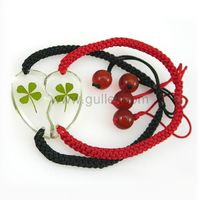 Gullei.com Friendship Couples Clover Hearts Bracelet for 2