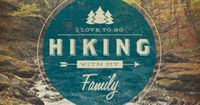 hiking // #love to #hike with my family! Nice #design