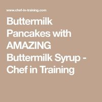 This recipe comes from my Grandma's cookbook and is a family favorite! Anyone who had ever had these pancakes can attest that these truly are the best pancakes