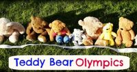 Teddy Bear Olympics (Part 2) 6 mini versions of popular Olympic sports ideal for toddlers & preschoolers.