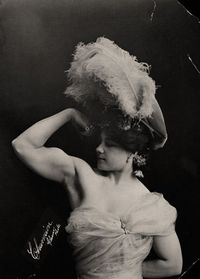 just look at this fierce dame - laverie vallee [charmion]: trapeze burlesque artist