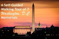 Don't pay for a tour! Take our self-guided walking tour of 7 Washington, D.C. memorials & monuments. This route is about 2 miles & it took about 2 hours.
