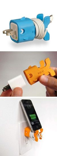Fishy iphone charger organizer