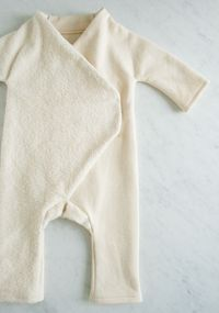 CORINNE'S THREAD: FLEECE BABY JUMPSUIT