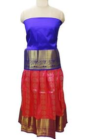 Kids pure silk pavadai - Indian traditional attire