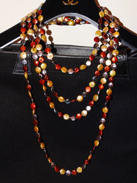 """Multicolor Coin Pearl Necklace, 100"""" inches Long, 160 grams. $169.00"""