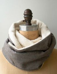 Cozy Sewn Cowl   The Purl Bee