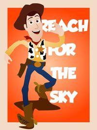 Pixar Character Graphics by Henry Erdman, via Behance