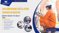 Air Dynasty is the top-rated company in Houston that provides the best air conditioning installation services not only installation it also provides other services like, repair, replacement, maintenance at affordable prices. Give us a call or you can visi...
