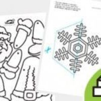 """A COLOR-IN Christmas �†�‰�""""ο�""""�…�€ίε�' και �€ολλέ�' κα�""""α�ƒκε�…έ�'"""