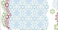 snowflake pillow boxes & gift tags - free printables - from the blog Creature Comforts