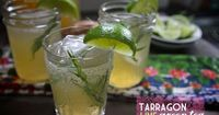 TARRAGON LIME GREEN TEA by Shutterbean. Would be delicious carbonated!