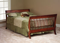 Buy finest Amish built baby crib made from solid Maple, Ash and Oak in $1299 only
