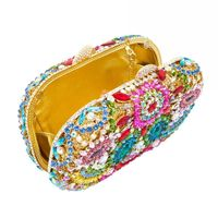 Bohemian Rhinestone Evening Beaded Clutch bag $299.97