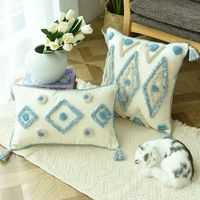 Moroccan Colorful Pillow Cover 45x45cm $45.00