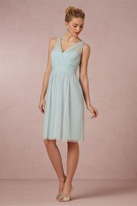 Tansy Dress in Sale at BHLDN... I like this dress too..hate the bow on the back, but you could take it off easily. and i like it in this Mint Mist colour