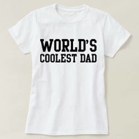 World's Okayest Father T-shirt, World's Okayest Father Shirt, Men's Crewneck Shirt, Cool Dad Shirt, Father's Day Gift Shirt $16.50