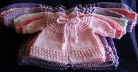 Ravelry: Baby Jiffy Knit Sweater pattern by Cathy Waldie