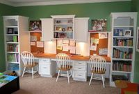 Kids Office Space designed by my husband and I