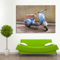 Vespa G.S. 150 Block Giant Wall Art Poster (P-0197)