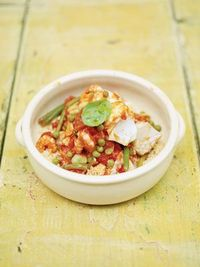 Spicy Moroccan Stewed Fish with Couscous | goop.com