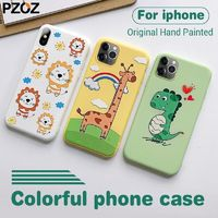 Hand-Drawn Design Case for iPhone 11,iPhone 11 Pro, iPhone 11 Pro Max, iPhone 8, iPhone 8 Plus, iPhone 7, iPhone 7 Plus, iPhone X, iPhone XS, iPhone XR Ultra Thin Slim Soft case by PZOZ $5.99