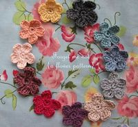 Little Treasures: Forget Me Not Headband - free tutorial {or use it as a crochet flower garland}