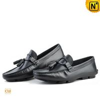 Leather Tassel Loafers Mens CW740315