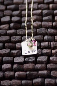 LOVE necklace. #Valentines