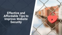 We have compiled a list of several useful website security tips to help you in achieving this particular goal so that you can grow your digital presence in a secure, customer-friendly manner.