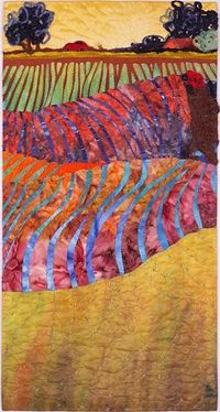 Quilt ~ Over Hill and Dale, Interpreted by Mary Koenig