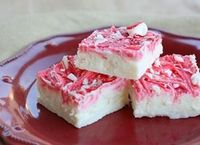 You might not be able to stop eating this delicious vanilla peppermint fudge. Not only does it take less than five minutes it's festive too!