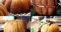 pumpkin bundt cake - might make this for the pumpkin carving contest???