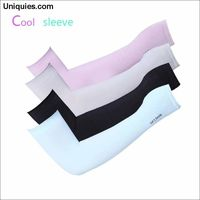 1 Pair UV Protection Cooling or Warmer Arm Sleeves for Men Women Kids Sunblock Protective Gloves Running Golf Cycling Driving $22.29