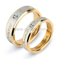 Engraved Forever Love Promise Rings Set for 2 https://www.gullei.com/engraved-titanium-forever-love-promise-rings-set-for-2.html