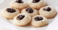 Shortbread Thumbprints With Bittersweet Ganache Recipe This is just one of a series of small bite recipes that will make you a big hit this holiday from Ghirardelli.
