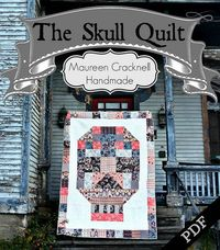 The Skull Quilt Pattern by maureencracknell, via Flickr