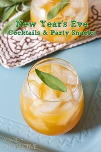 Best New Year's Eve Recipe Ideas #Cocktails #Appetizer