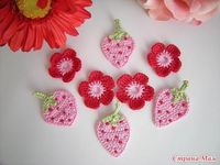 Gotta make some of these to embellish my little Ella's new felted purse. TOO CUTE
