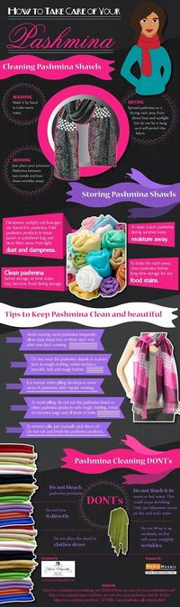 How to Take Care of Your Pashmina [Infographic]