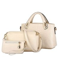 Fashion Elegant Shoulder Tote Purse Leather Bags Set for Women,NEW,on Sale! More Info:https://cheapsalemarket.com/product/fashion-elegant-shoulder-tote-purse-leather-bags-set-for-women/