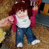 Cabbage Patch costume!! i love.