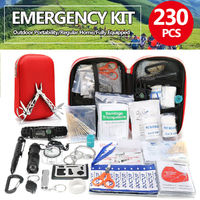 SOS Tools Kit Outdoor Emergency Equipment Box For Camping Survival Gear Kit