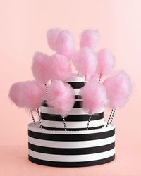 Here is a fantastic DIY tutorial on how to create your own Cotton Candy Stand. Martha Stewart shows readers just how simple this stand is to prepare HERE.