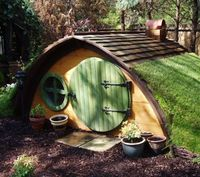 Why build your kids a tree house when you can make a hobbit hole?