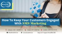 SMS marketing is an efficient channel that develops a positive acquaintance among the customers so that they choose your business over competitors through customers engagement